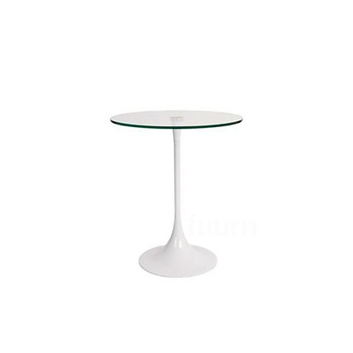 Glass Tulip Side Table