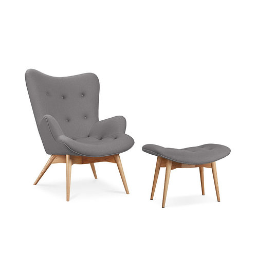 Grant Lounge Chair &/Ottoman