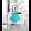 Thumbnail: DSW (Blue) Wood Chair