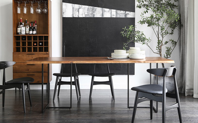 Nordic Solid Wood Table