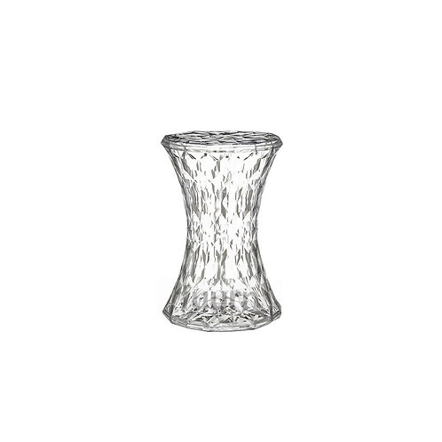 Crystal Cylinder Side Table