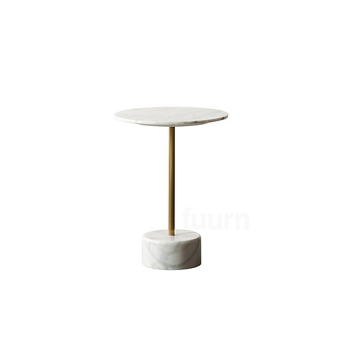 Natural Marble Side Table