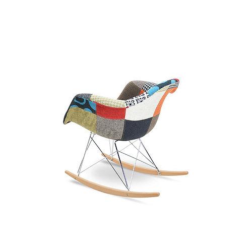Patchwork Rocking Armchair