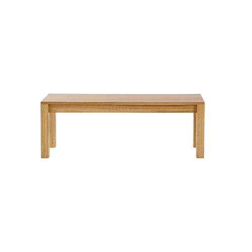 Straight Wooden Bench