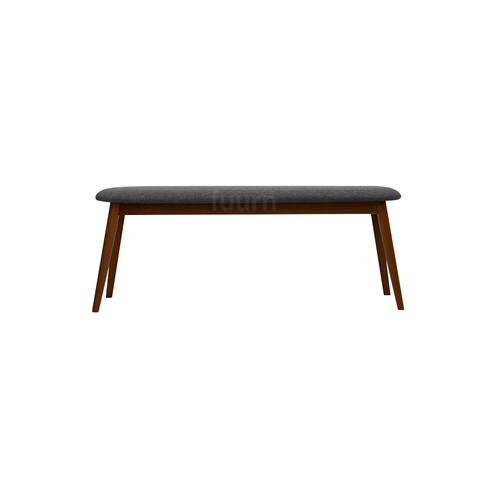 Modern Furniture Bench cushioned (walnut) bench | fuurn furniture i modern furniture hong