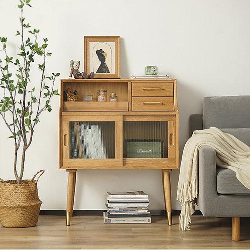 Petite Storage Bookcase