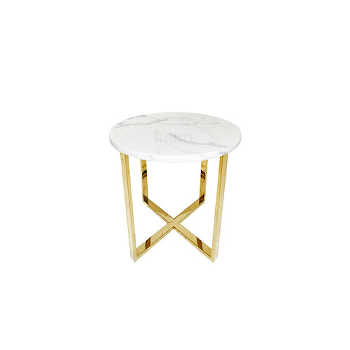Nordic Gold Side Table