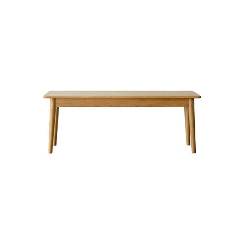Round (Natural) Wood Bench