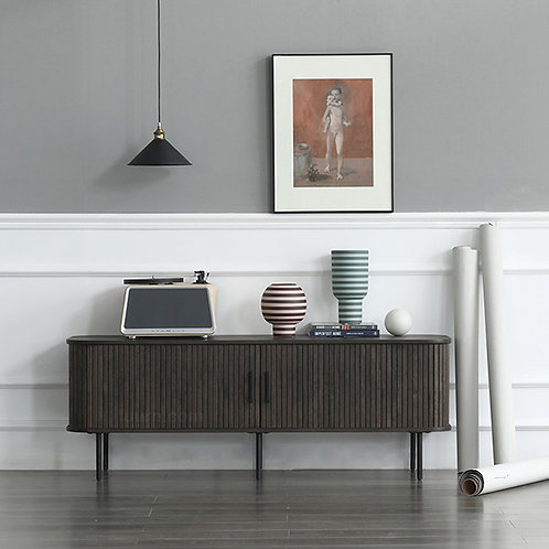 Vitra (Walnut) TV Cabinet