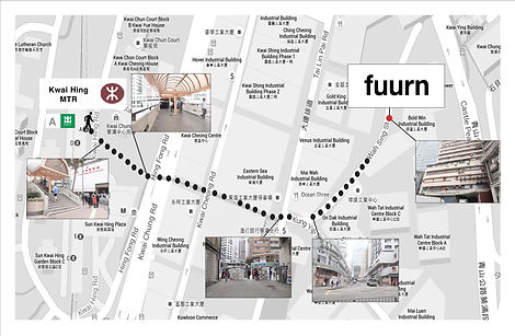 FUURN Central Store Map