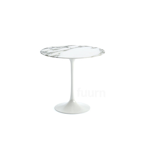 Marble Tulip Side Table
