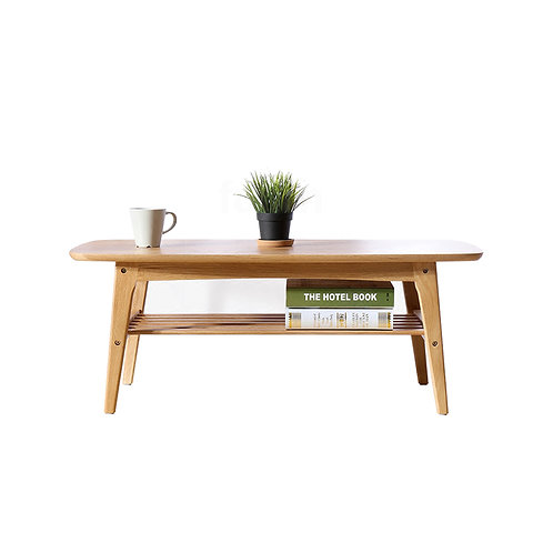 Bench Solid Wood Coffee Table