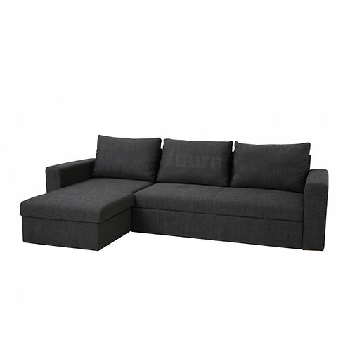 L-Shape (3-seater) Sofa / Bed