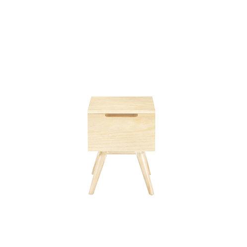 Modern Wood Bedside