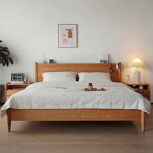 Nordica Wood Bed Frame