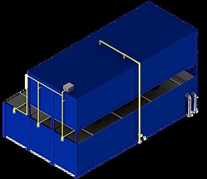 Die FlexBio Abwassertechnik für die Lebensmittel- und Getränkeindustrie lässt sich platzsparend in Containern installieren. Sie genießen alle Vorteile einer schnellen und effektiven Anbindung in Ihren Betrieb.