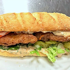 Fried Wild Cod Po-Boy