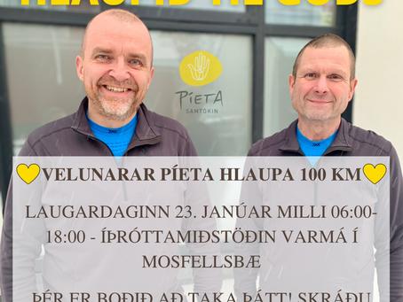 Hlaupum til góðs - Píeta