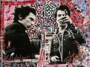 LA collab; Sex Pistols # 2. 48x36