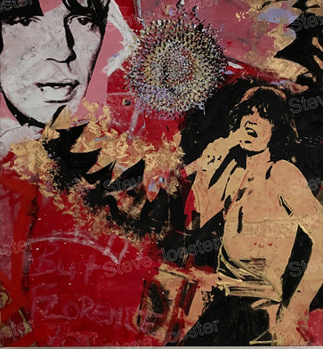 Mick and the Sun flower. 24x26