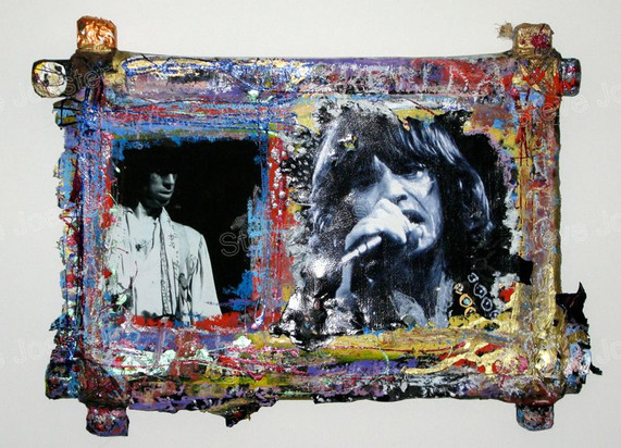 mick & keith #2 (sold)