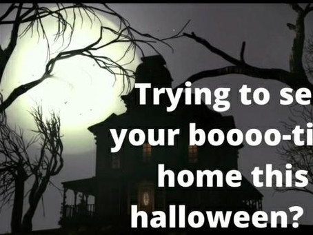 Trying to sell your boooo-tiful home this halloween? 👻
