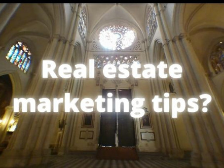 Real estate marketing tips?