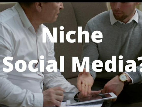 Alternative and niche social media channels