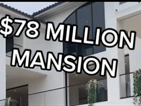 $78 Million Mansion tour in bel air!