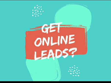 Get online leads?