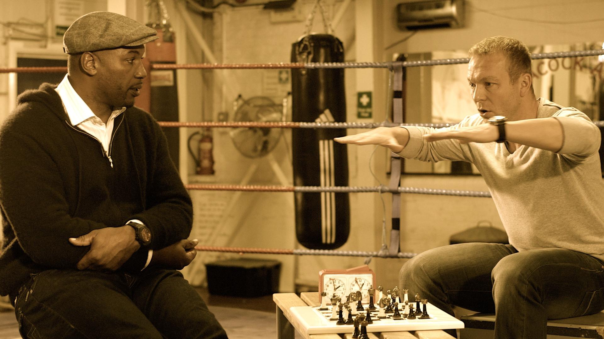 Lennox Lewis & Chris Hoy