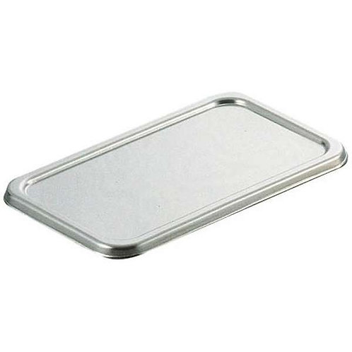 Storage Container Rectangular Lid | Stainless Steel