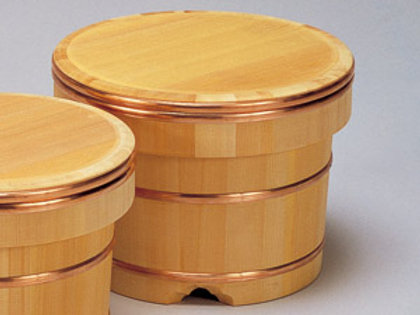 Edobitsu Wooden Sushi Rice Holder