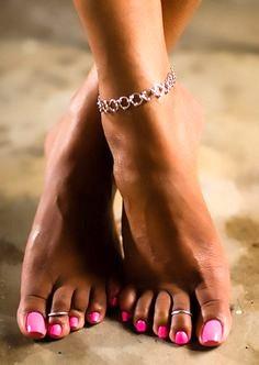 Feet. Yup that's right, feet.