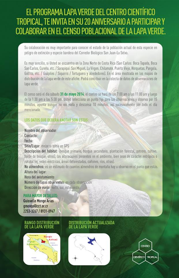 Programa Lapa Verde - Costa Rica