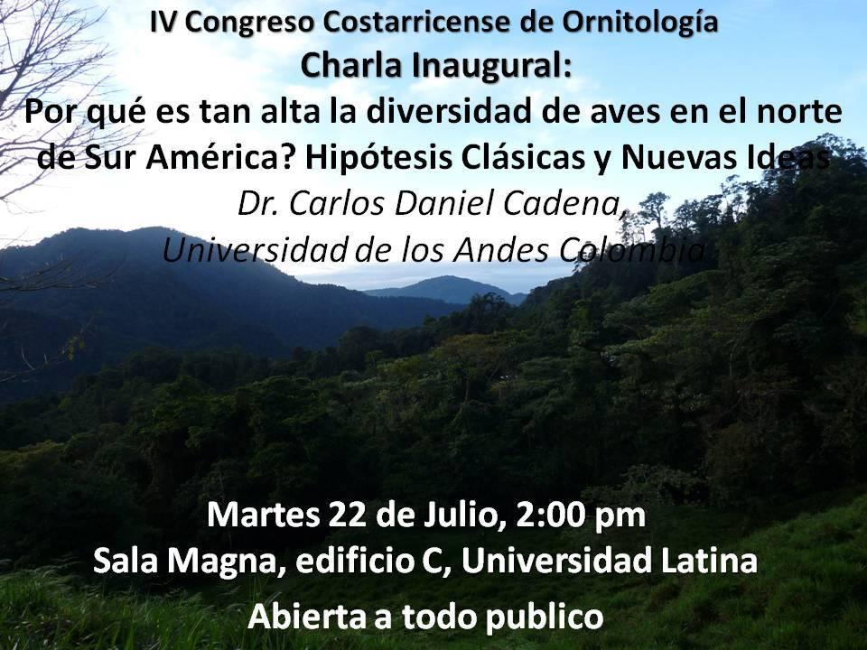 Congreso Costarricense de Ornitologia