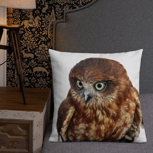 Premium Pillow-Boobook Owl