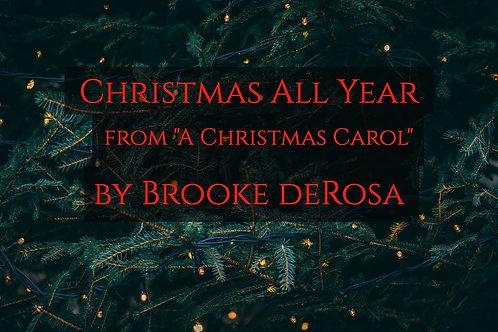 Christmas All Year - A Christmas Carol - Chorus & Orchestra
