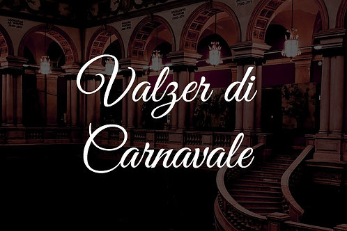 Valzer di Carnavale - Small Ensemble - DIGITAL DOWNLOAD