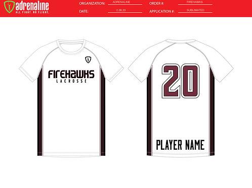 White Adrenaline Shooter Shirt