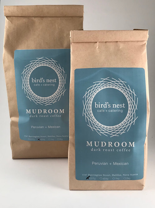 1/2 lb. MudRoom Dark Roast Coffee Beans