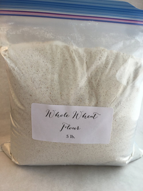 Whole Wheat Flour 5 lbs