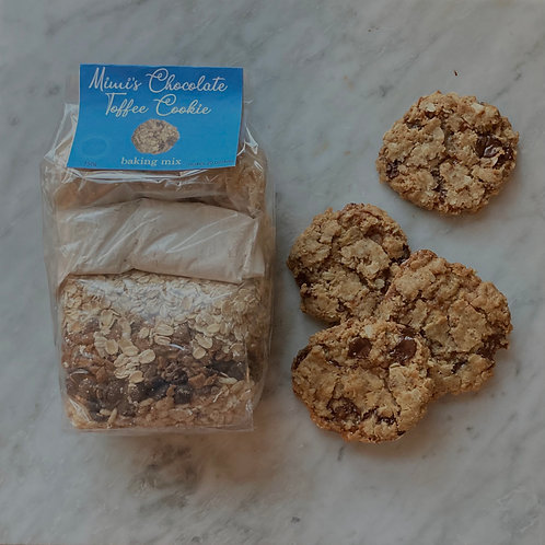 Mimi's Chocolate Toffee Cookie Baking Mix