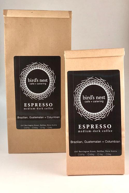 1/2 lb. Espresso Beans