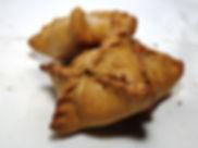 Пирожок ржаной бездрожжевой полба индейк