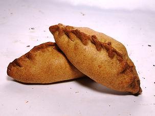Пирожок ржаной бездрожжевой картошка гри