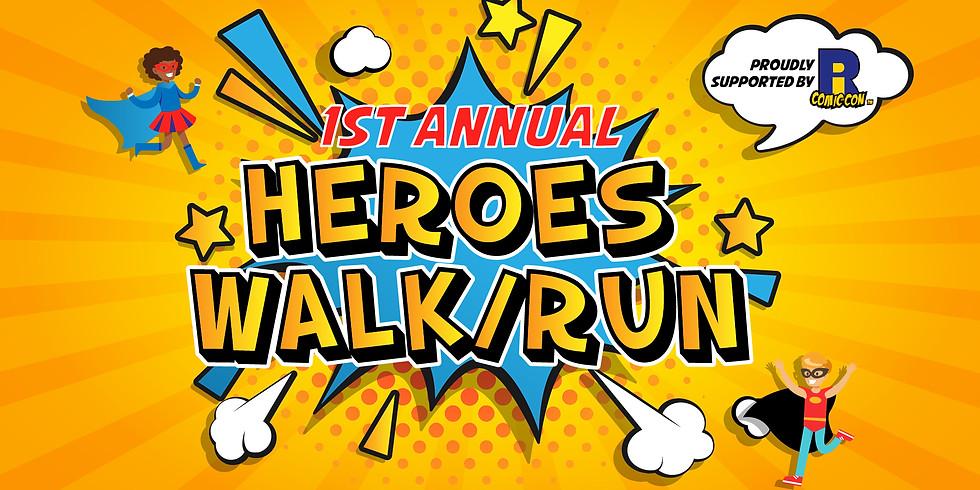 1st Annual Heros Walk/Run