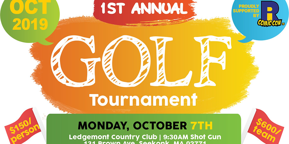1st Annual Golf Tournament: Dreams Are Only A Swing Away!!