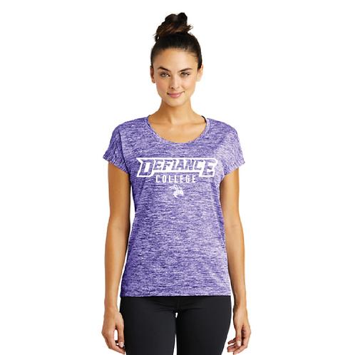 Sport-Tek® Ladies PosiCharge® Electric Heather Sporty Tee