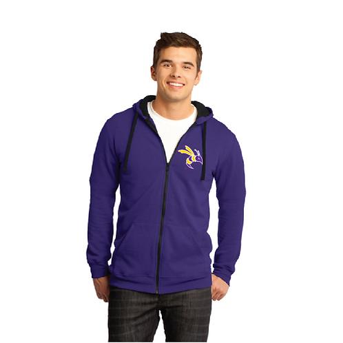 District® - Young Mens The Concert Fleece™ Full-Zip Hoodie